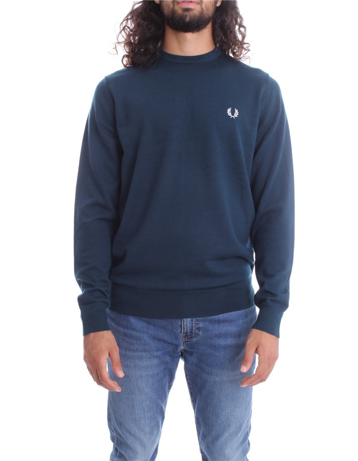 FRED PERRY Sweater Petroleum