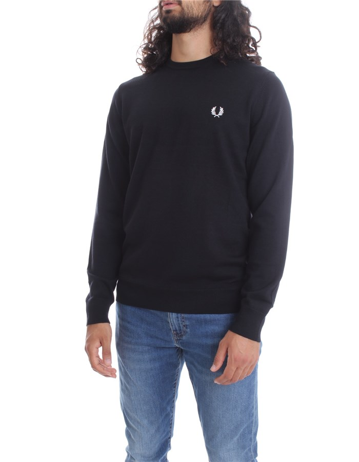 FRED PERRY Sweater Black