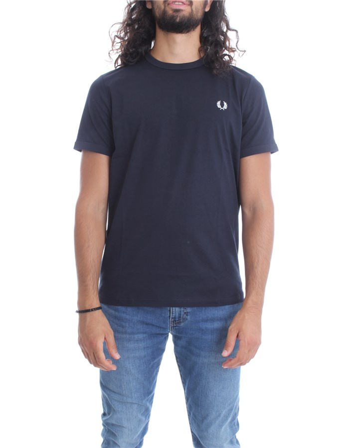 FRED PERRY T-shirt Navy