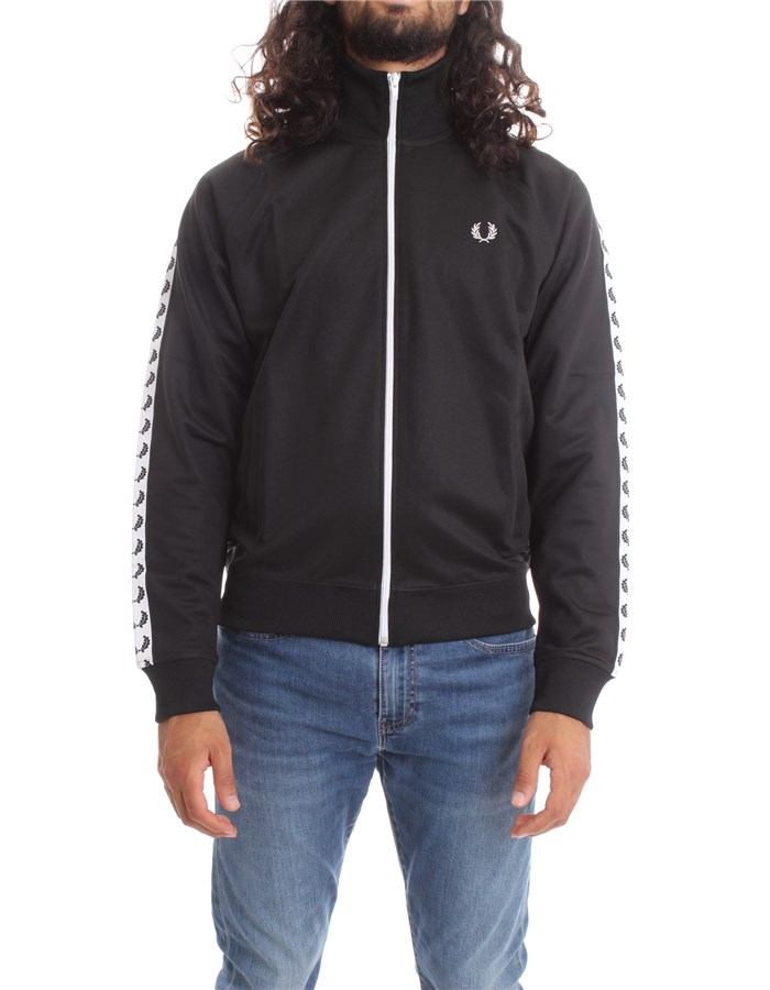 FRED PERRY Sweatshirts Sweat FPJ6231 Black