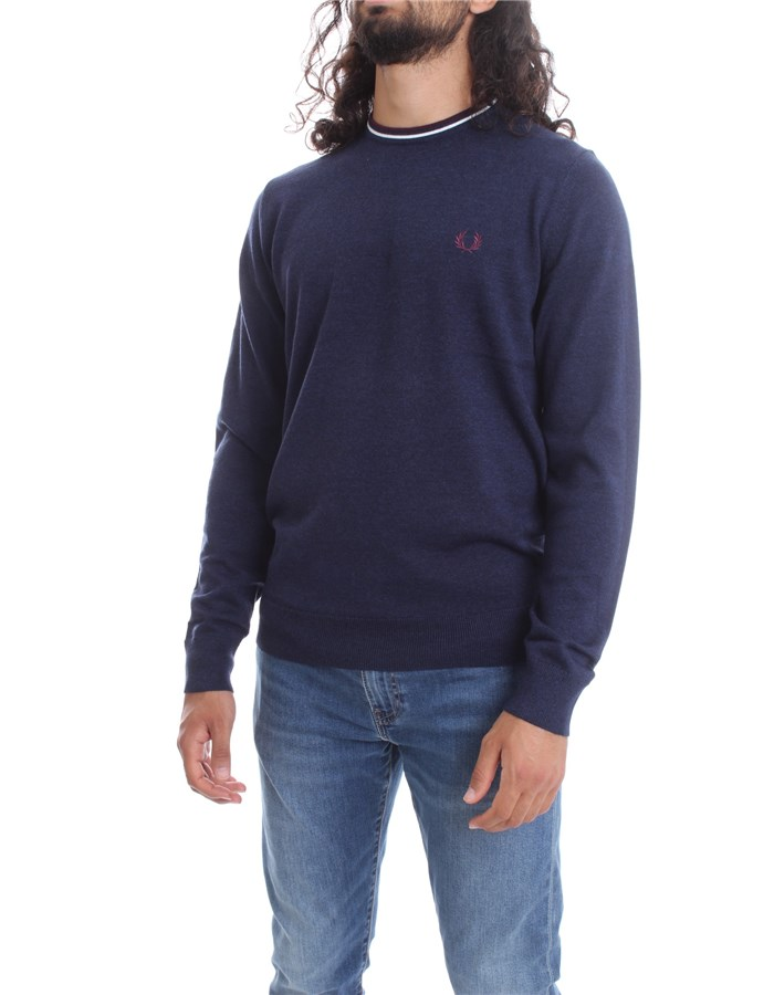 FRED PERRY Crewneck  Blue