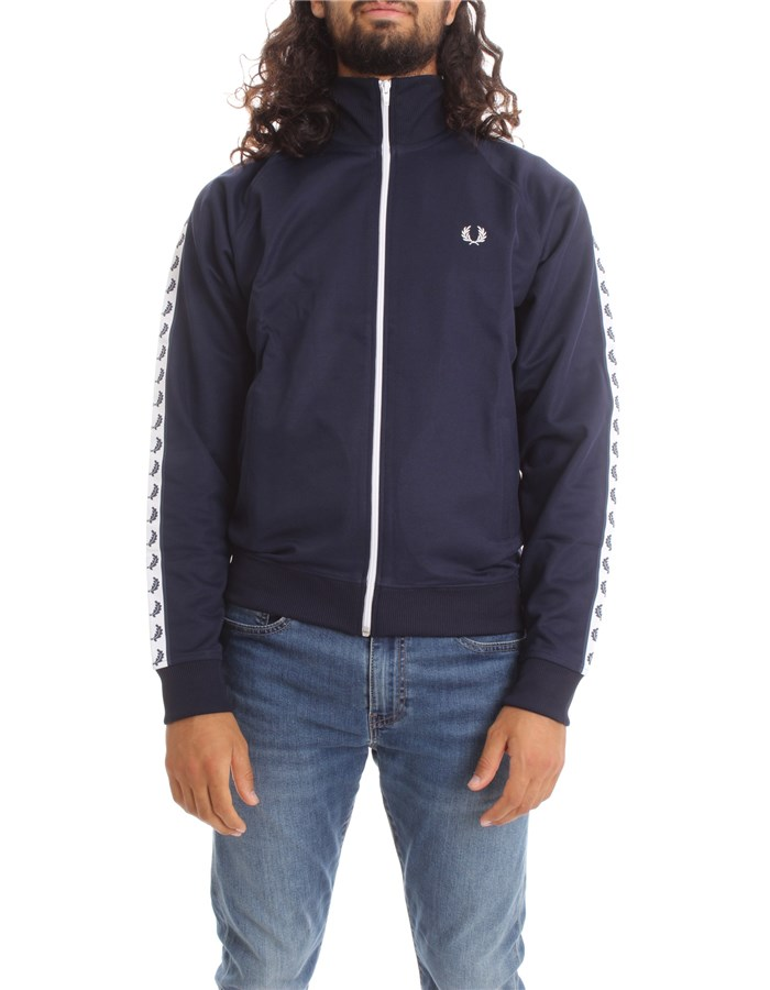 FRED PERRY Sweat Carbon navy
