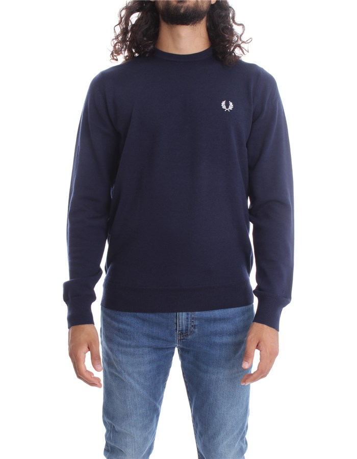 FRED PERRY Sweater Navy