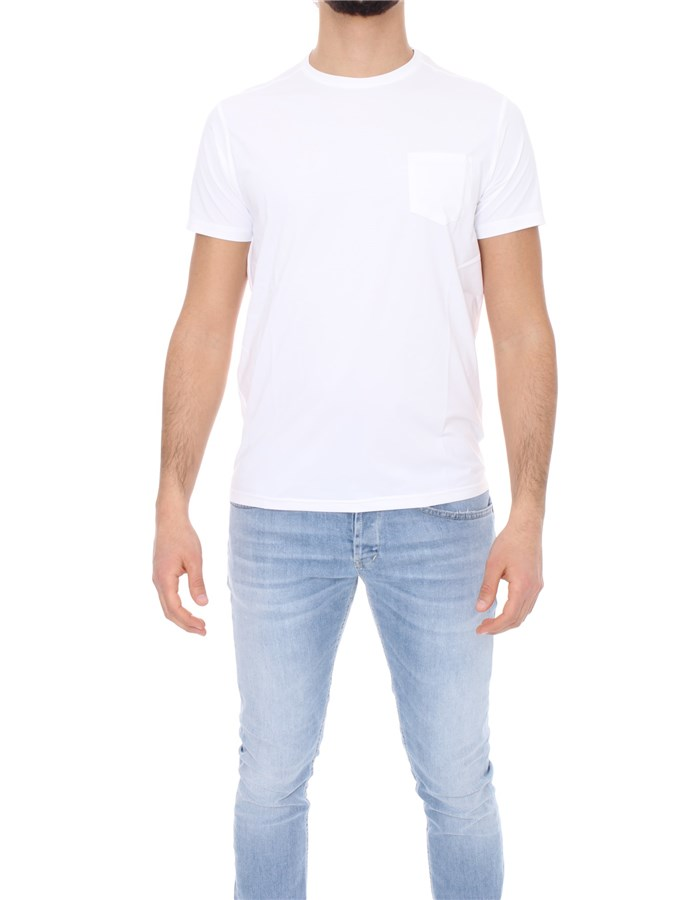 SAVE THE DUCK T-shirt Short sleeve DT0022M GLOW12 White
