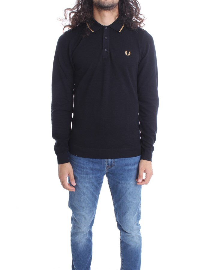 FRED PERRY Polo shirt  Long sleeves Men FPK9550 0
