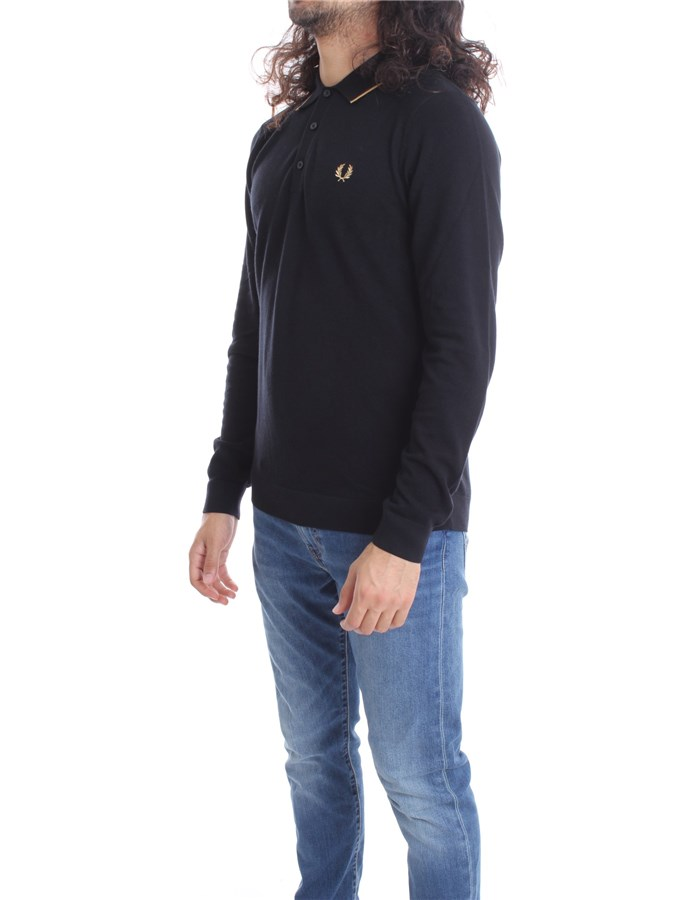 FRED PERRY Polo shirt  Long sleeves Men FPK9550 2