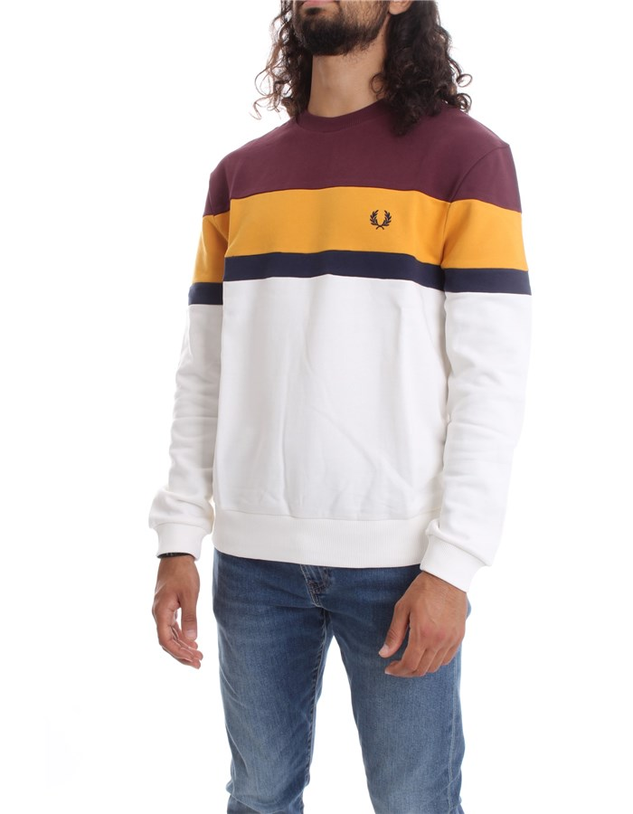 FRED PERRY Sweat Mahogany