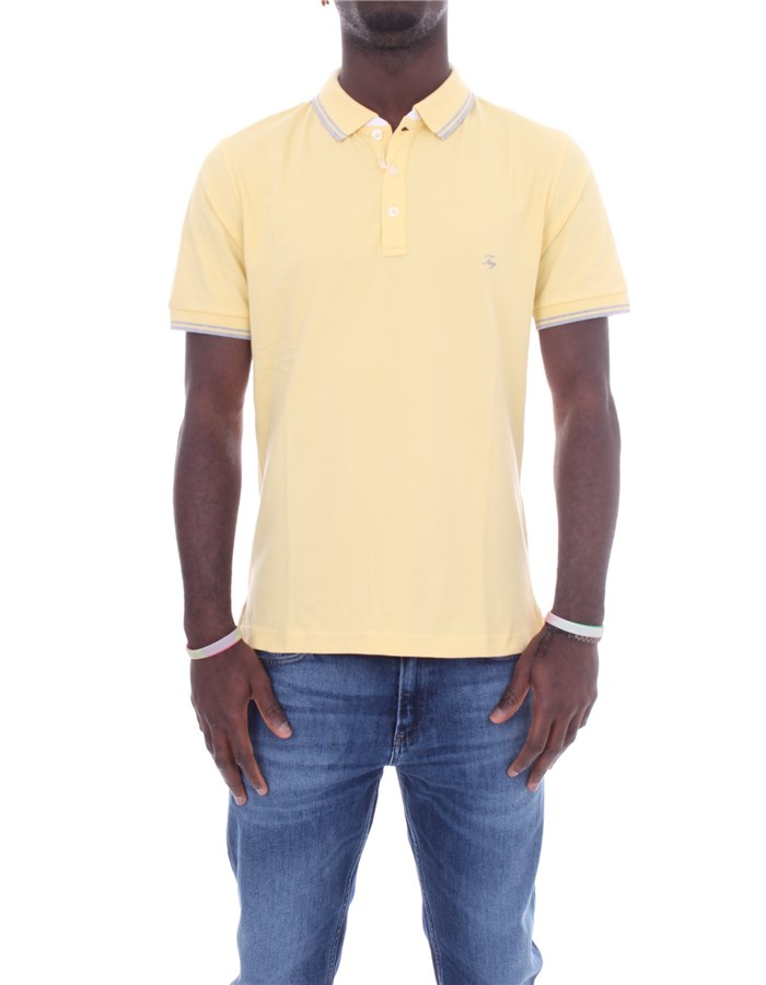 FAY Short sleeves Light yellow