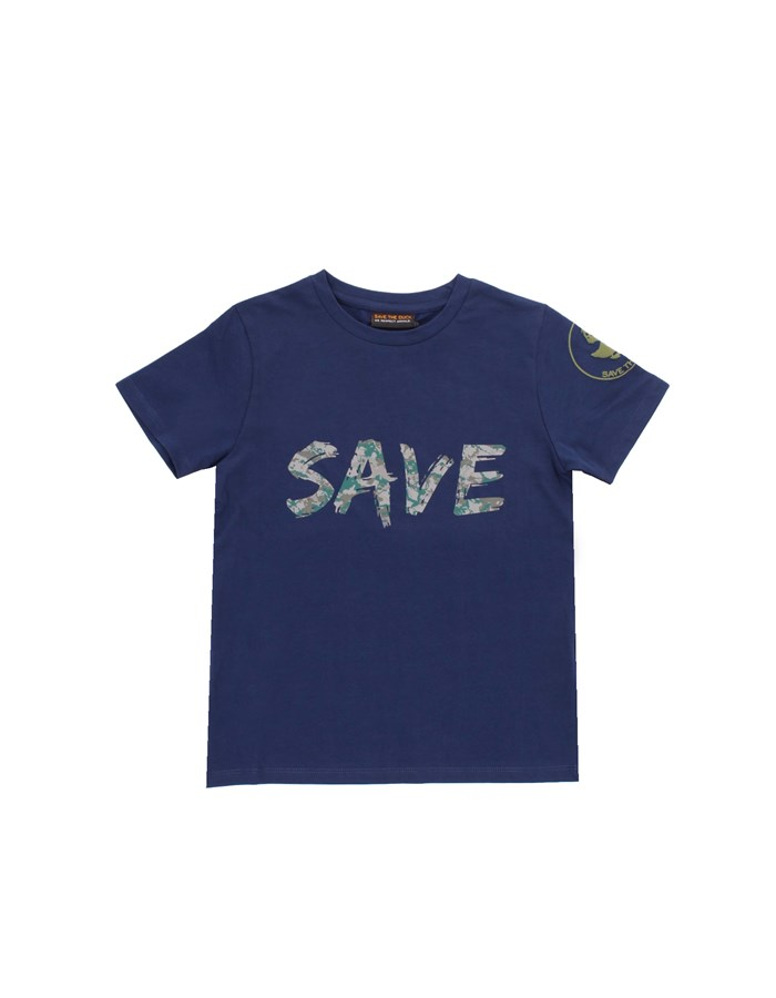 SAVE THE DUCK Short sleeve Navy