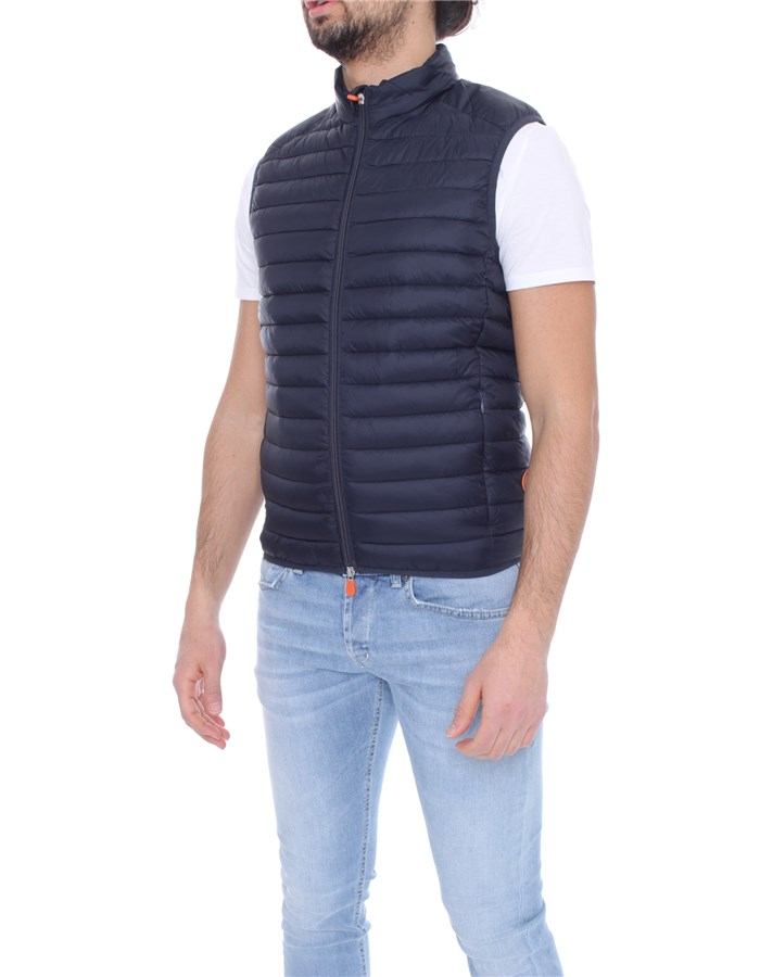 SAVE THE DUCK Vests Blue black