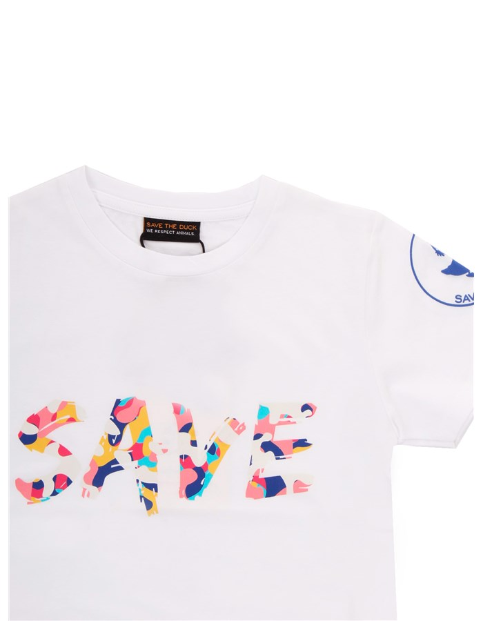 SAVE THE DUCK Short sleeve white