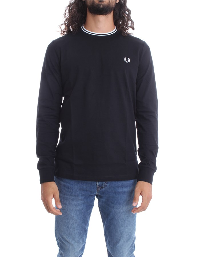 FRED PERRY T-shirt Black