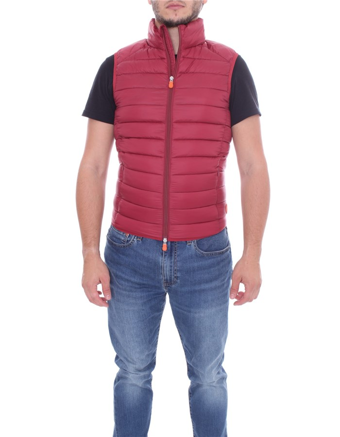 SAVE THE DUCK vest Red