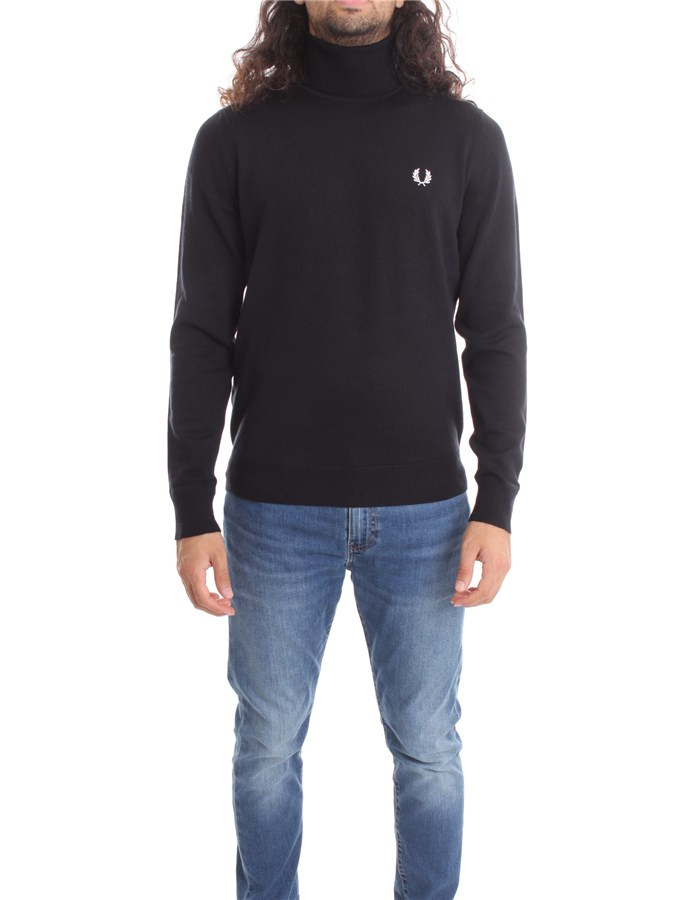 FRED PERRY High Neck  Black