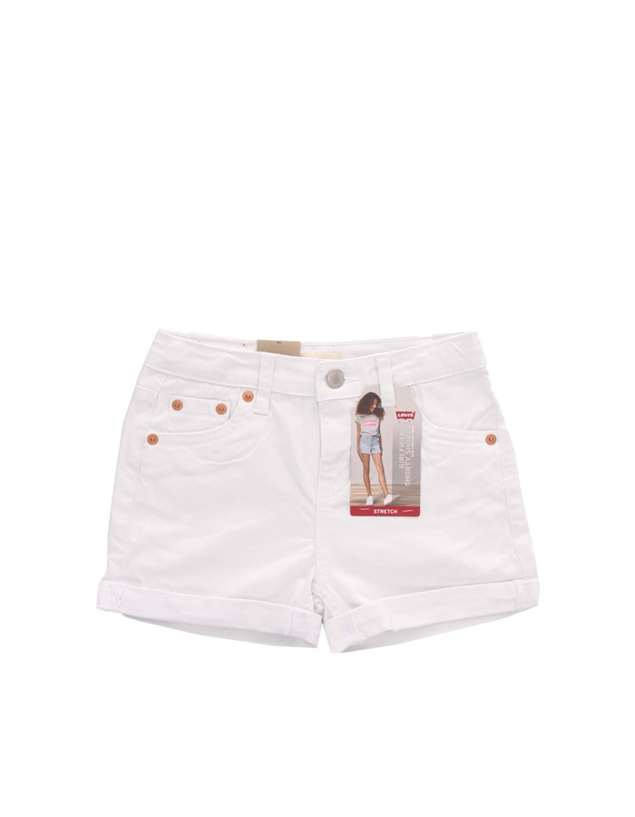 LEVI'S Shorts Denim 3E4536 White
