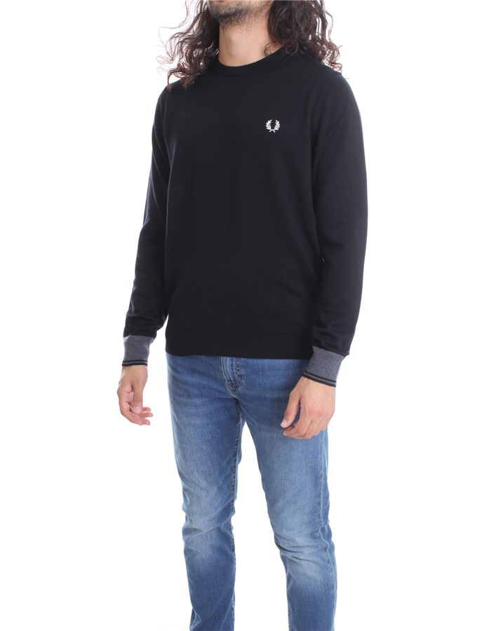 FRED PERRY Crewneck  Black