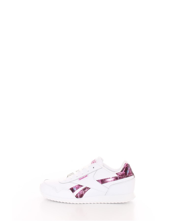 REEBOK  low White pink