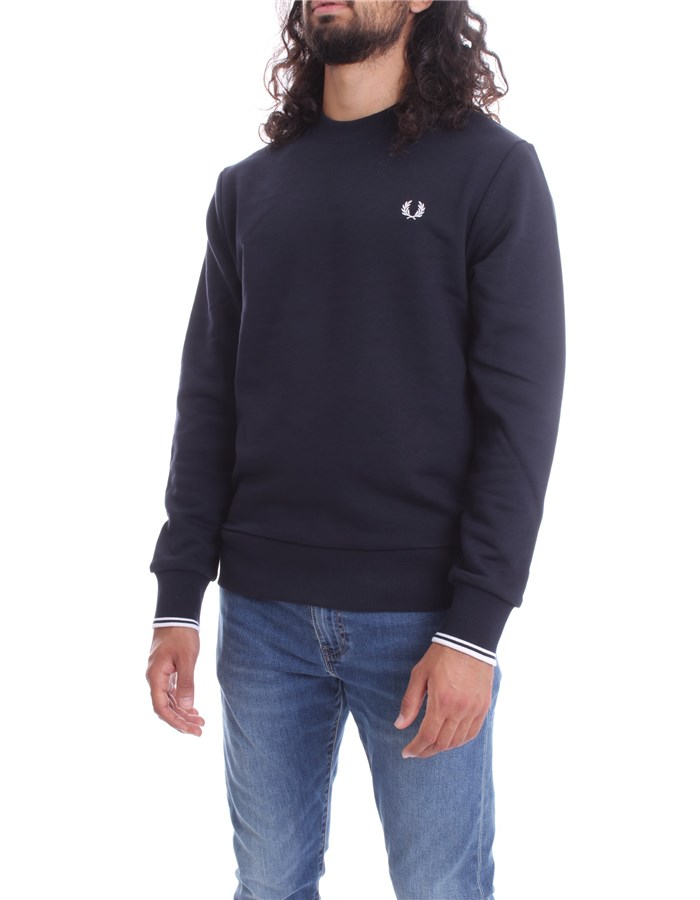 FRED PERRY Crewneck  Navy