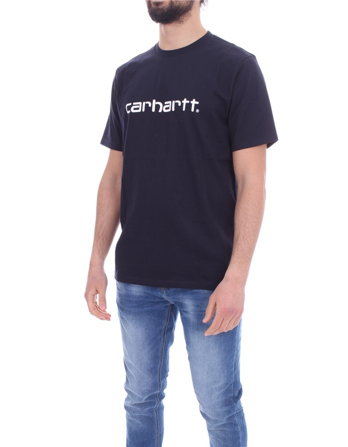 CARHARTT Short sleeve Dark navy