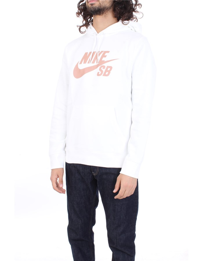 NIKE Sweatshirt White