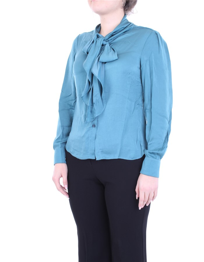 MOLLY BRACKEN Shirt Blue