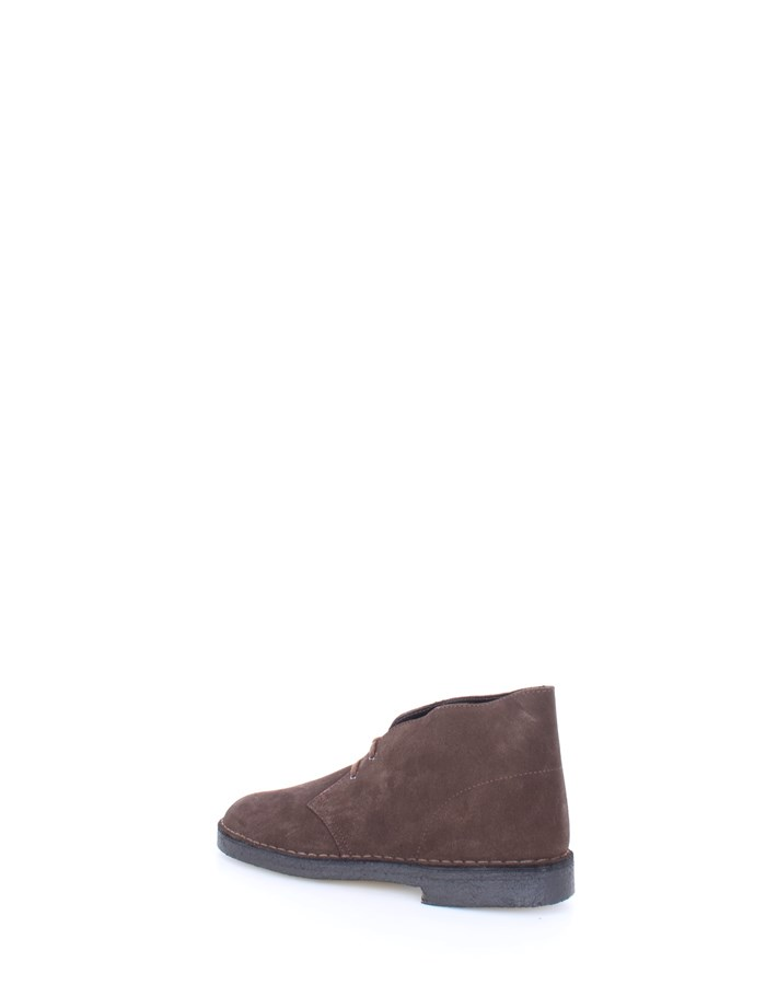 CLARKS Polacchini Brown