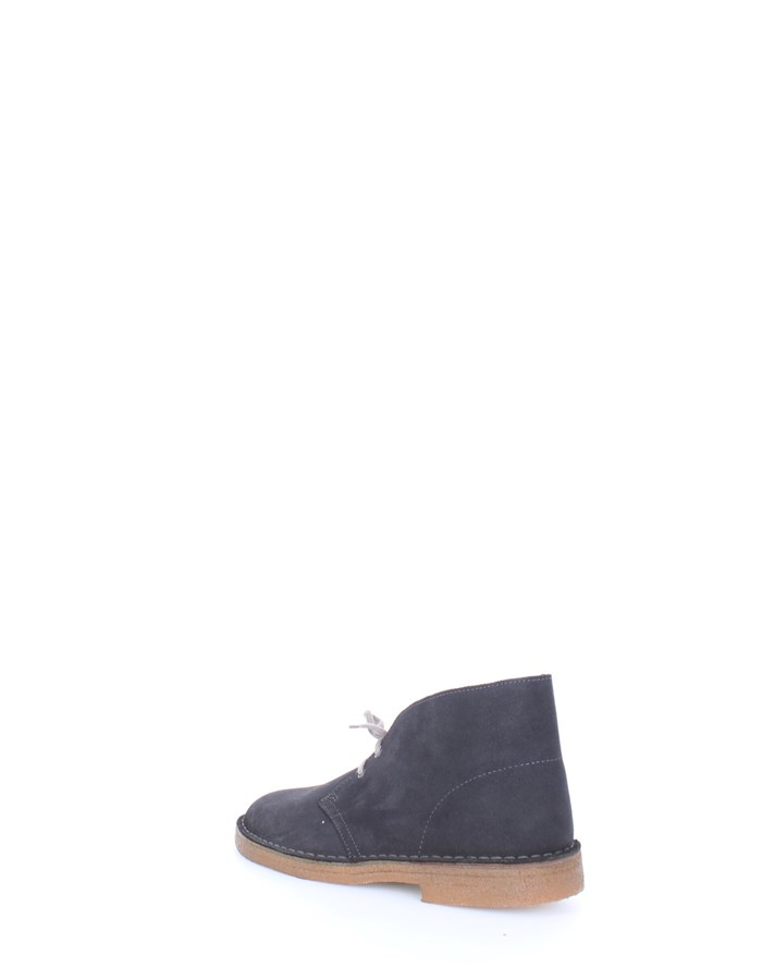 CLARKS Polacchini Dark gray