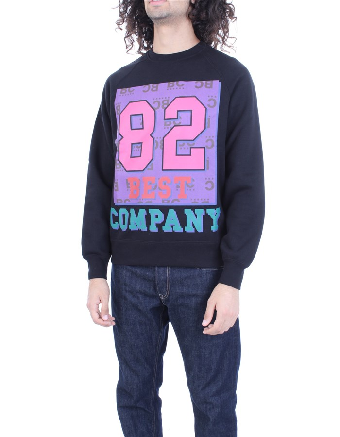 BEST COMPANY Sweatshirt Black