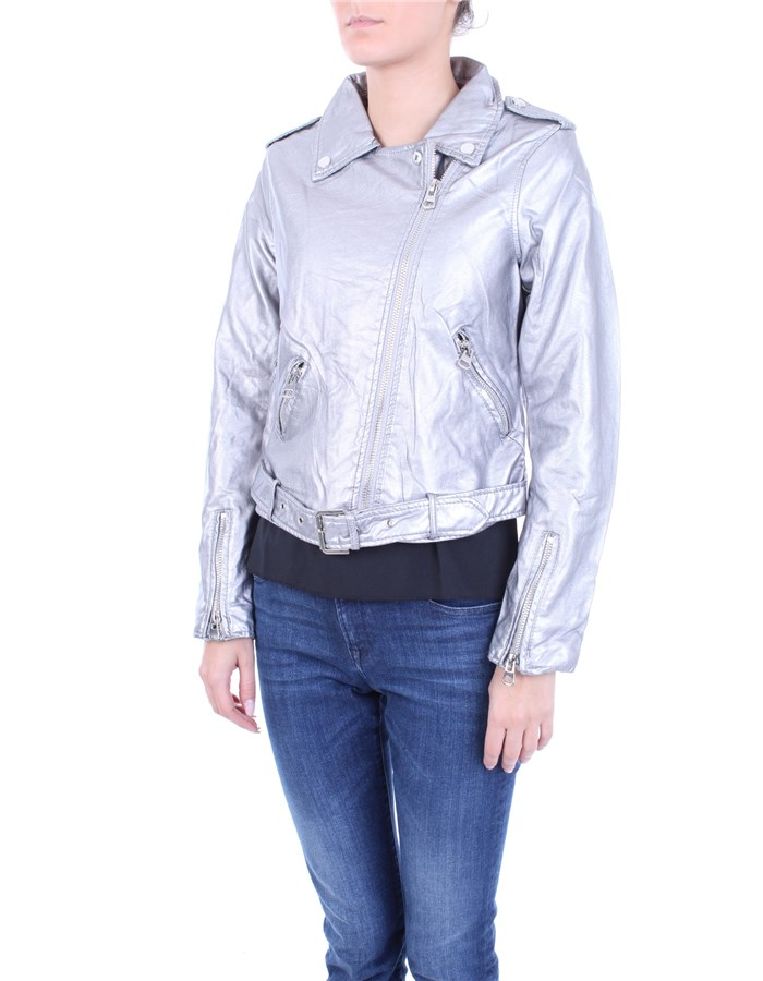 MOLLY BRACKEN Coat Silver