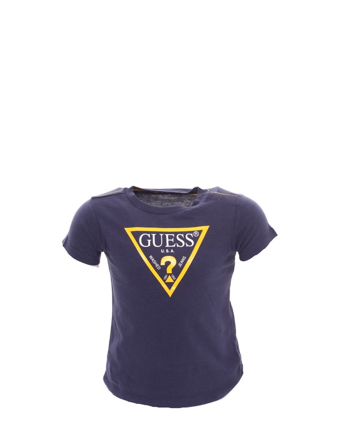 GUESS T-shirt Blue