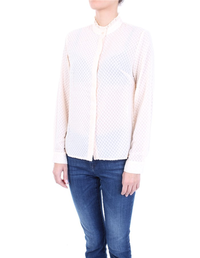 MOLLY BRACKEN Shirt white
