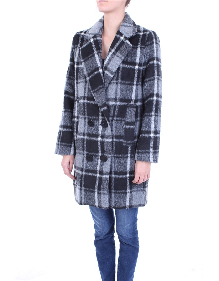 MOLLY BRACKEN Coat Black