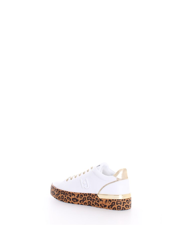 LIU JO Trainers White gold
