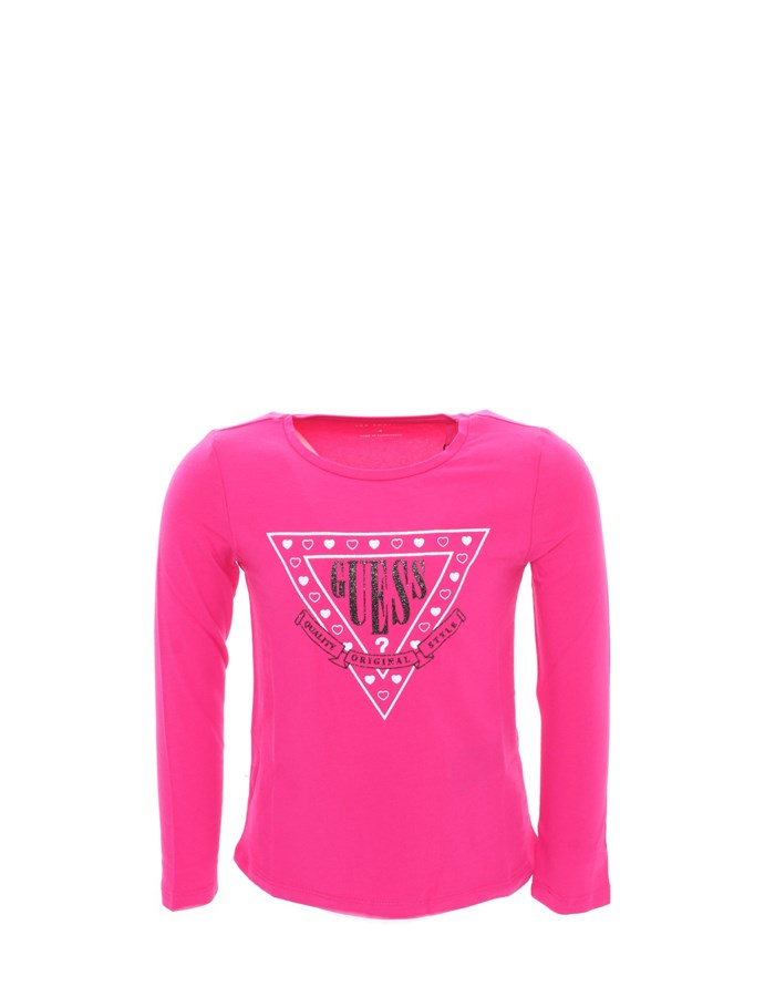 GUESS T-shirt fuchsia