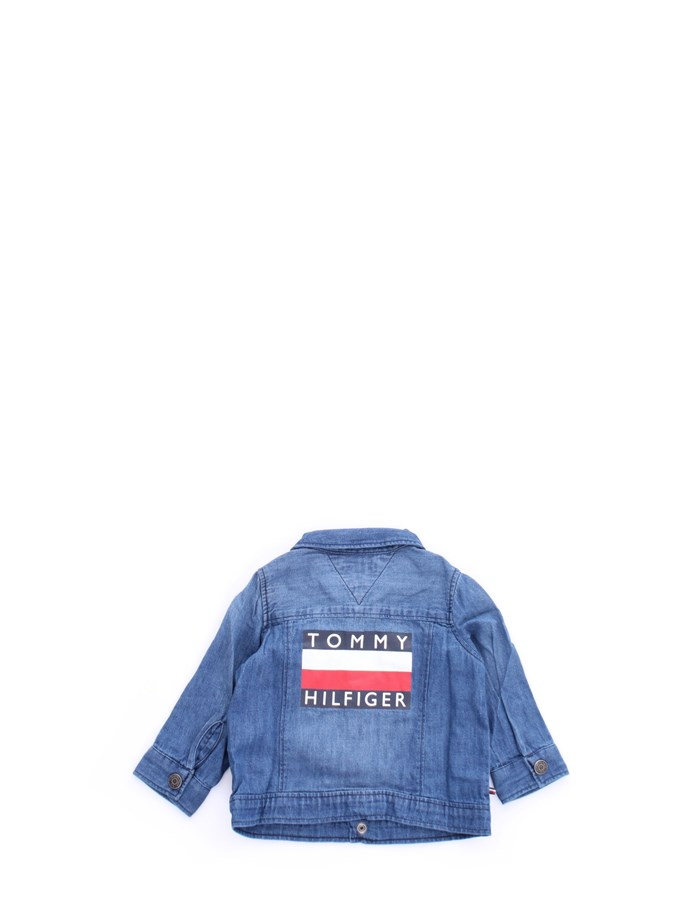TOMMY HILFIGER Coat Blue