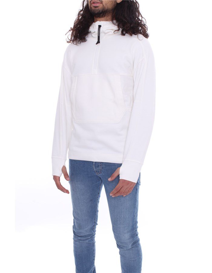 CP COMPANY Hoodies white