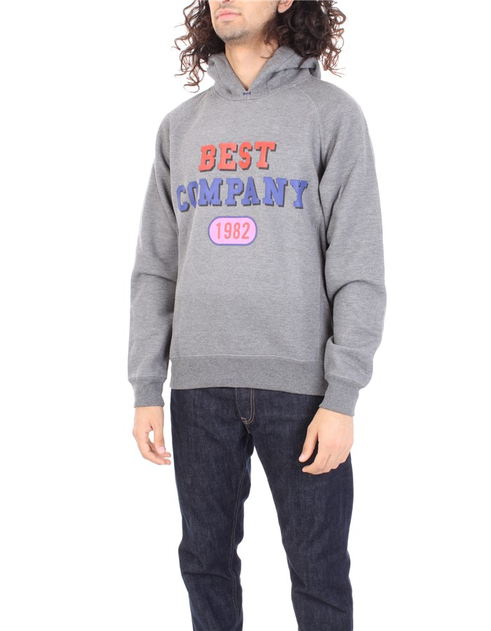 BEST COMPANY Sweatshirt Gray