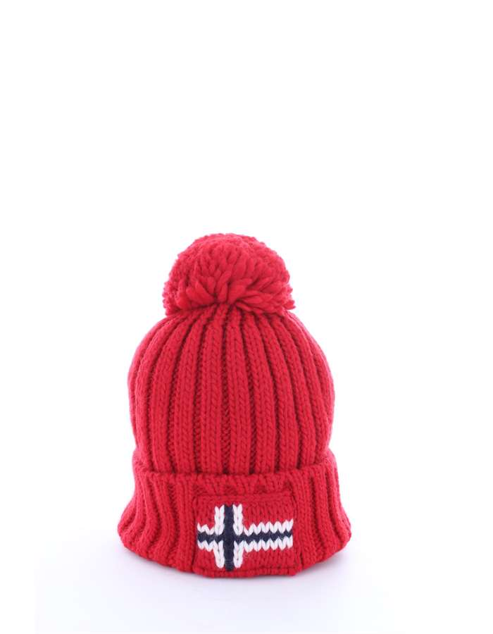 NAPAPIJRI Accessori Uomo Cappello Pop red N0YGSE SEMIURY 1