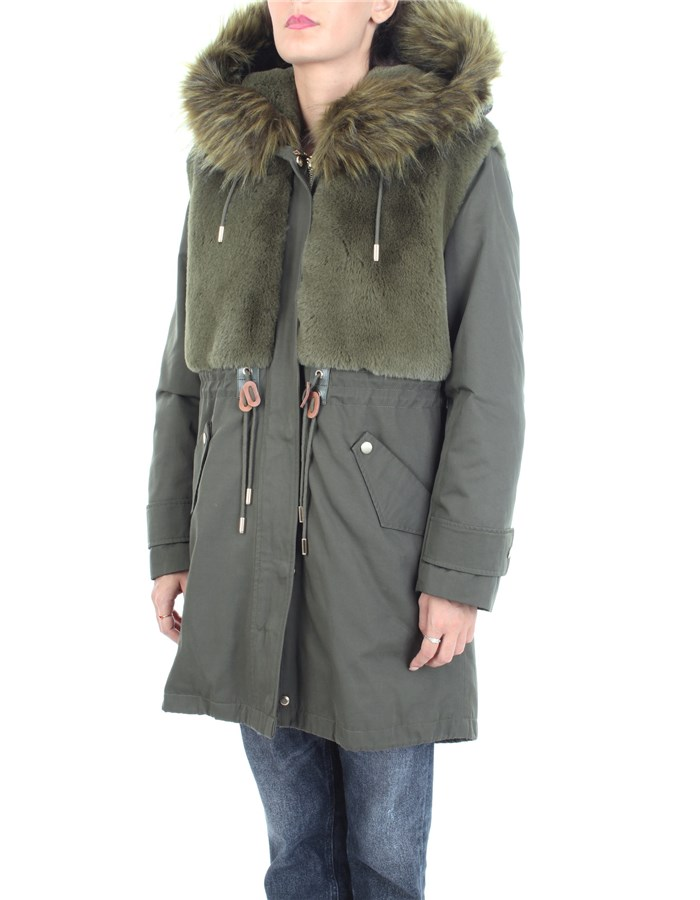 DONDUP Coat Green