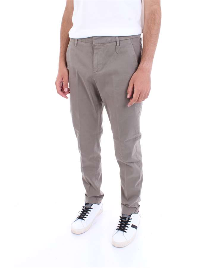 DONDUP Trousers Mud