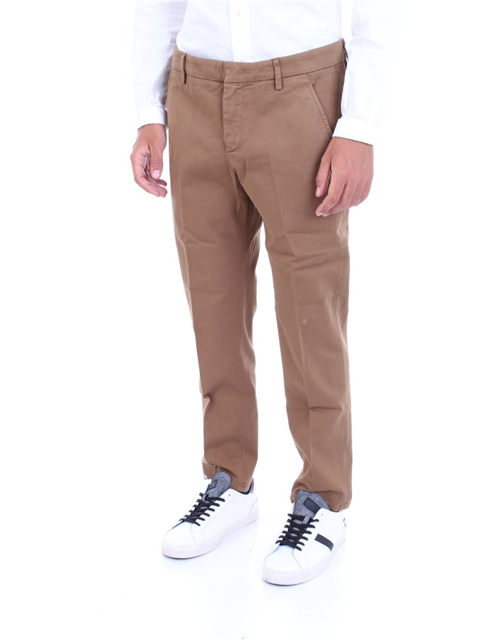 DONDUP Trousers Camel