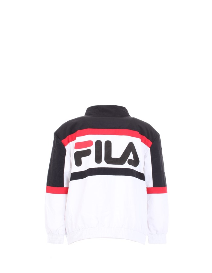 FILA Jacket White black