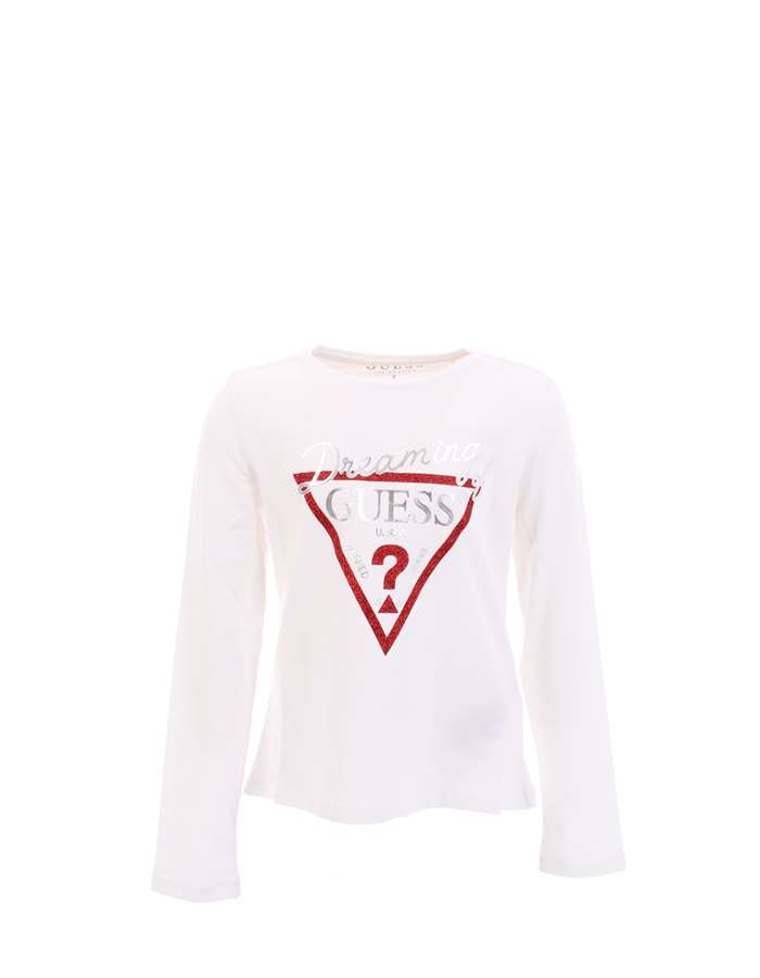 GUESS T-shirt White pink