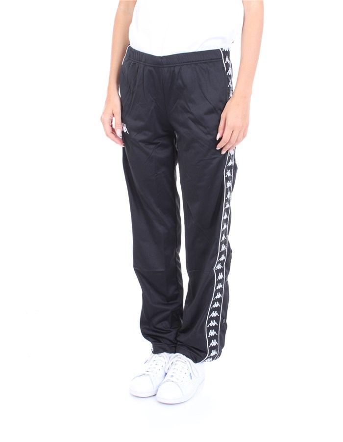 KAPPA Trousers Black