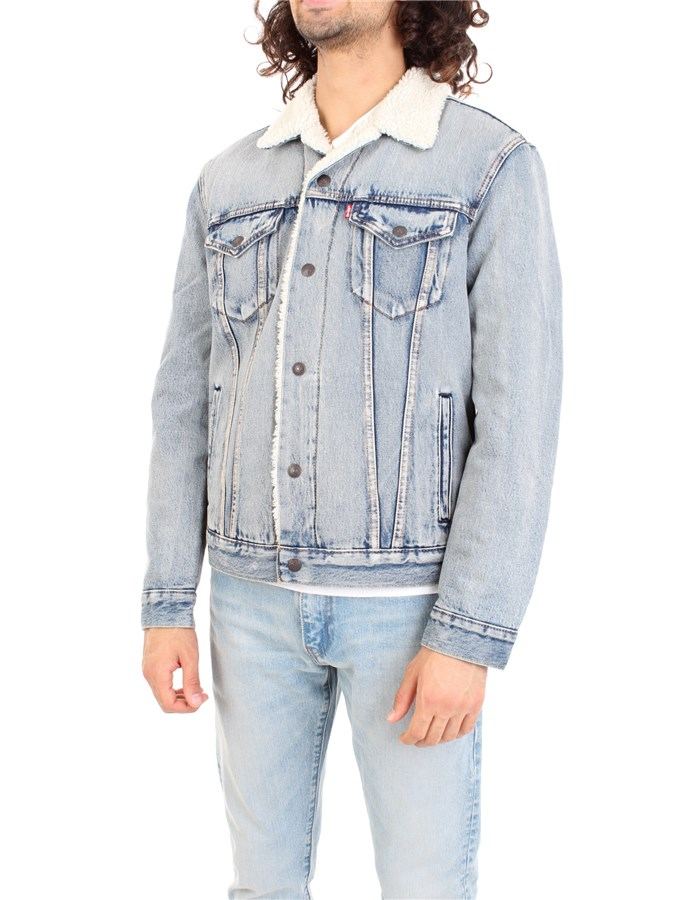 LEVI'S Coat Light blue