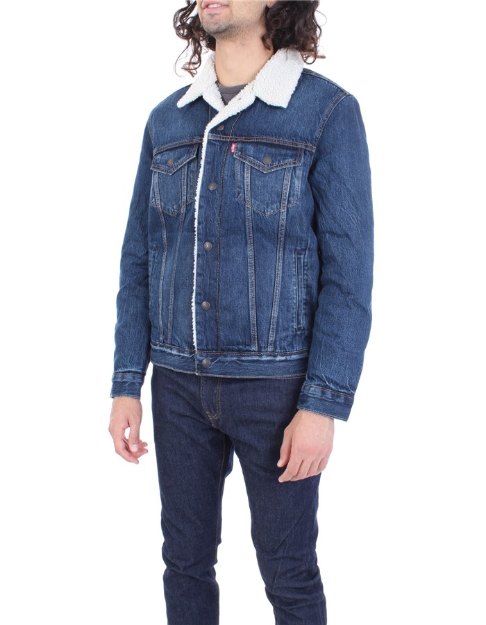 LEVI'S Coat Dark blue