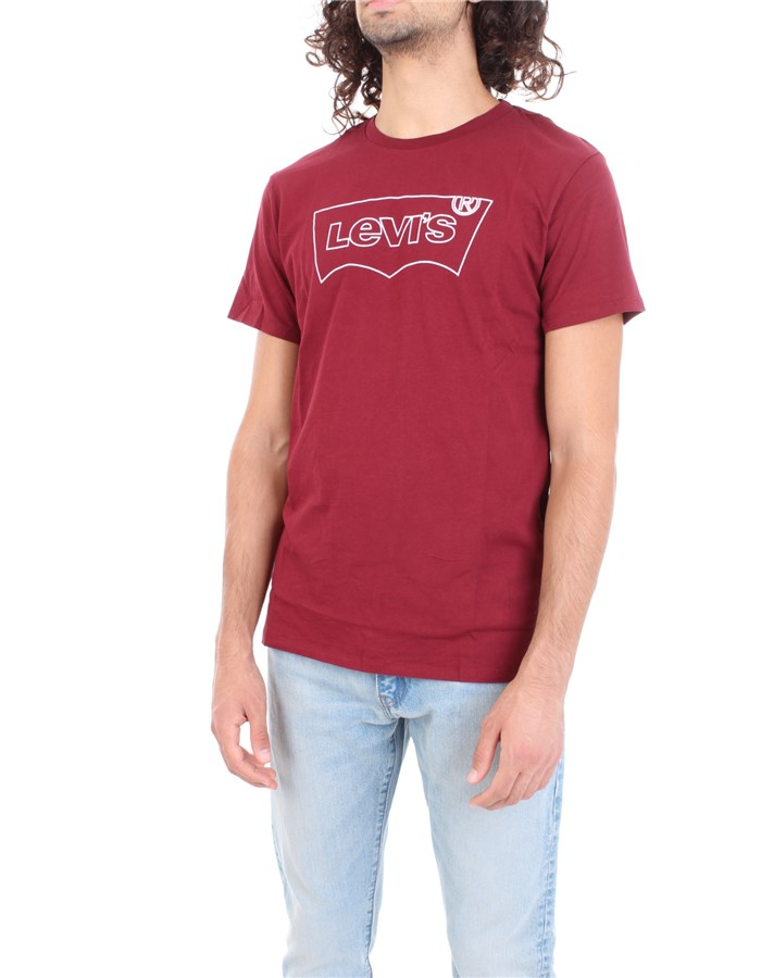 LEVI'S T-shirt Bordeau