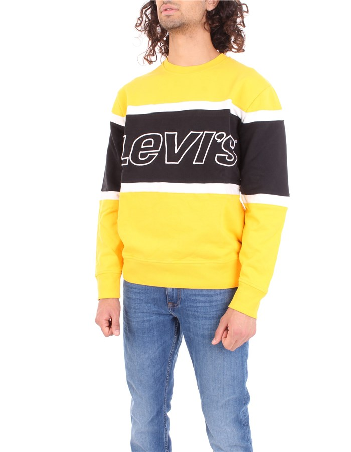 LEVI'S Sweatshirt Yellow