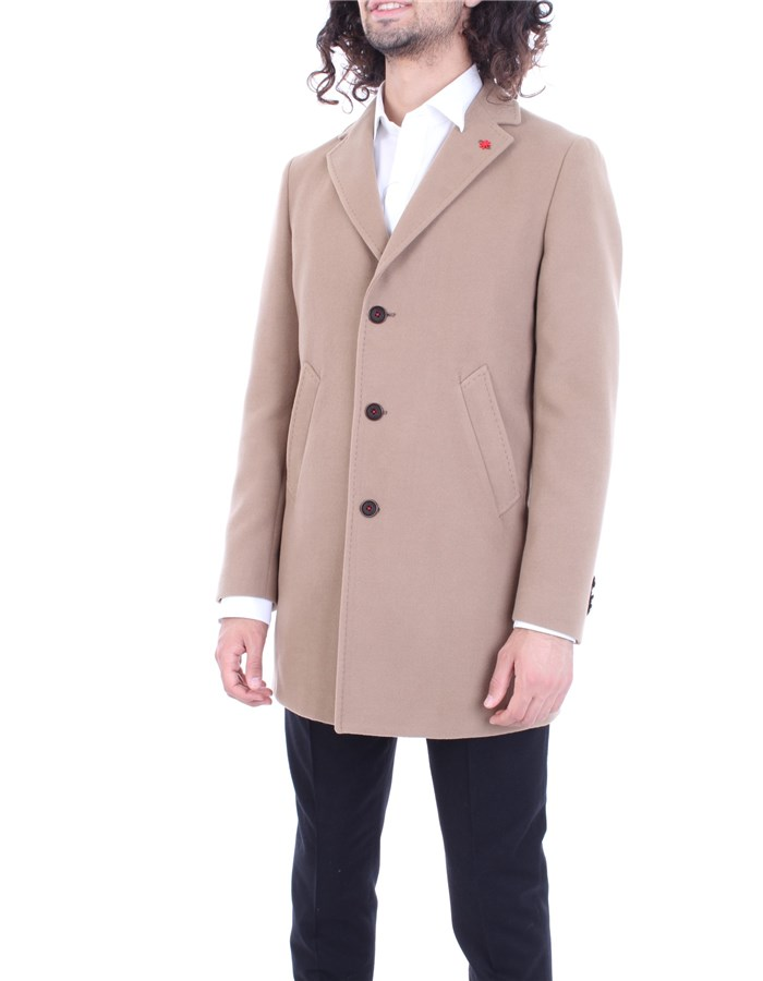 MANUEL RITZ Coat Camel