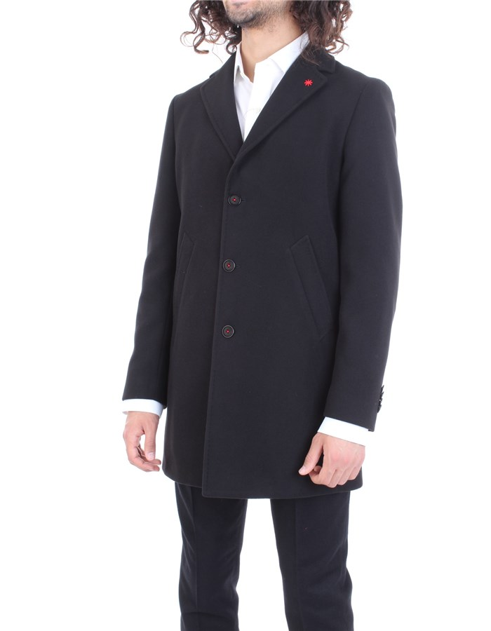 MANUEL RITZ Coat Black